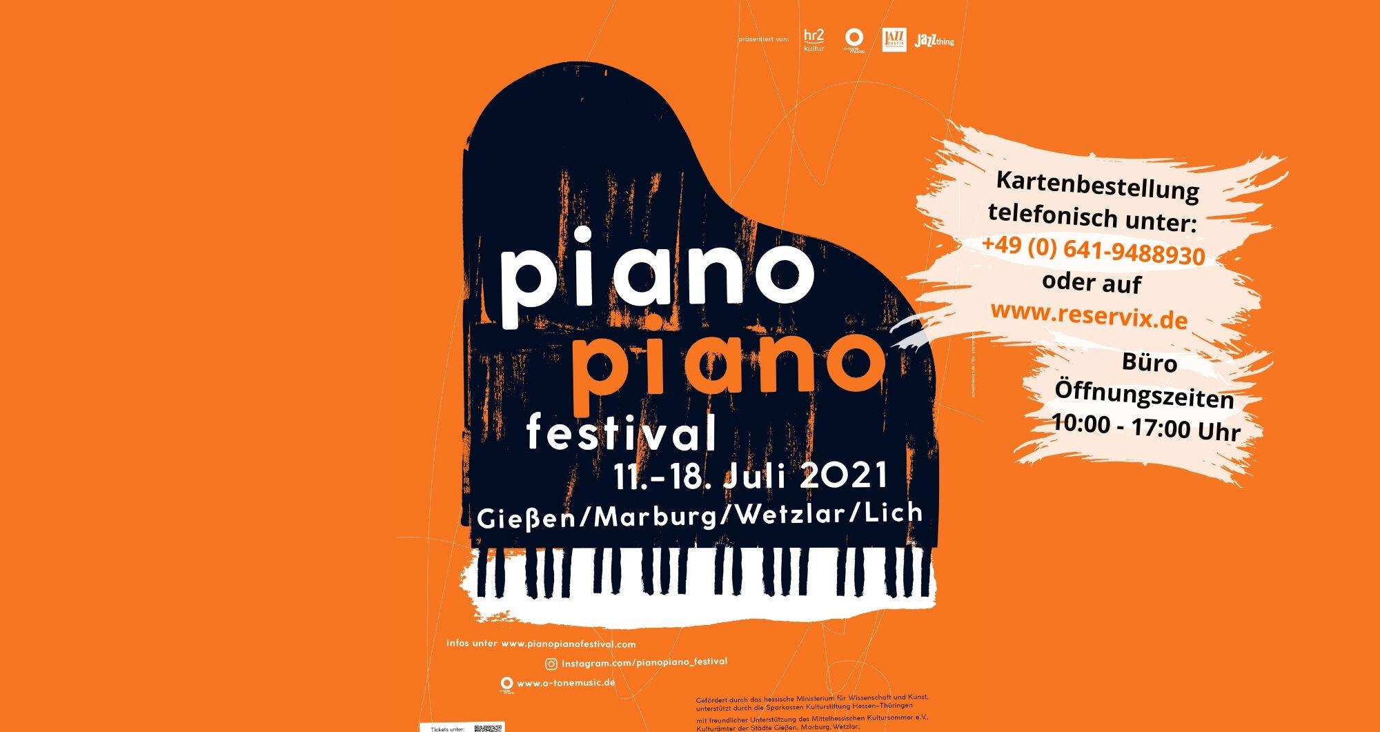 PIANO PIANO FESTIVAL - coming soon - Mittelhessen